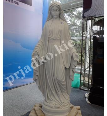 Статуя Богородиці з мармуру
