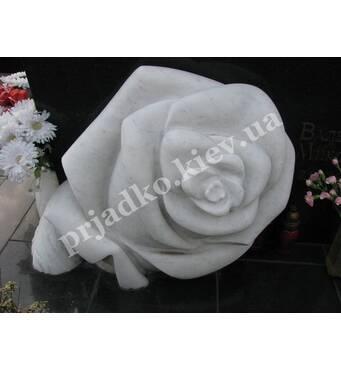 Роза из мармора для памятника