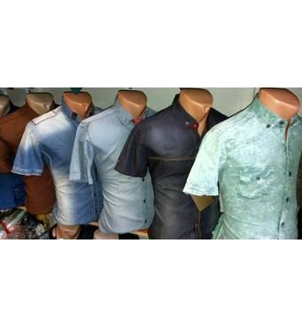 Мужская рубашка с коротким рукавом Турция