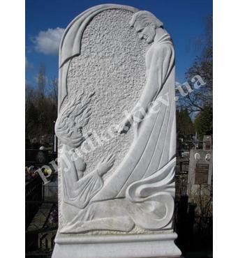 Скульптурный памятник из мрамора