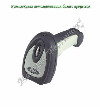 Имедж сканер для штрихкодов Cino F780 (500 скан/сік) USB, Сірий