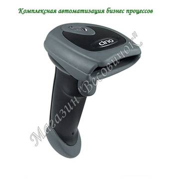 Имедж сканер для штрихкодов Cino F780 (500 скан/сік) RS - 232, Чорний
