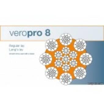 Veropro 8 - специальный стальной канат для башенных кранов