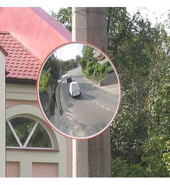 Сферическое зеркало для паркинга UNI 600