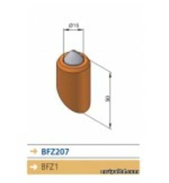 Приварной зуб BFZ207