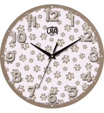 """Детские настенные часы  """"Лапа"""""""
