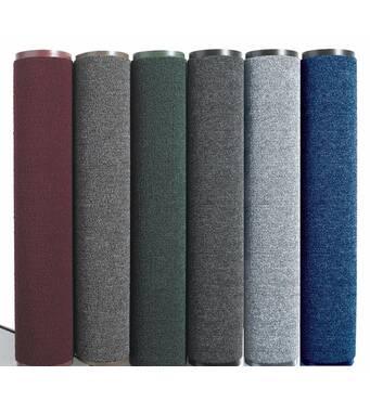 Грязезещитные  килимки серії Ламбет.  Avial Полипропиленовый грязезещитный  килимок  в РУЛОНІ ширина 120 см, сірий. 1022530