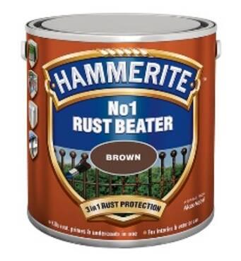 Грунт антикорозійний грунт Hammerite Rust Beater No.1 2,5л.
