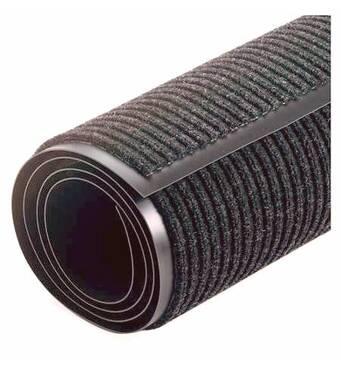 Грязезащитные килимки Дабл Стрипт Avial Грязезащитный килимок Дабл Стрип, в Рулоні ширина 90 см, сірий. 1022526