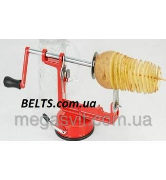 Овощерезка для картоплі Spiral Potato Chips (машинка для нарізки картоплі спіраллю Спіраль Потейто Чипс)