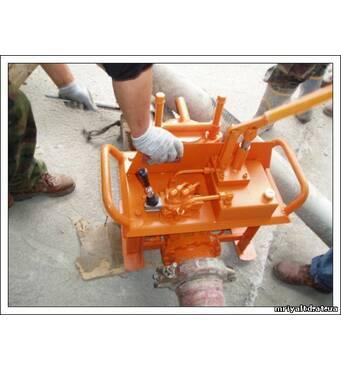 Гидравлическая задвижка для бетононасосов (ручная)