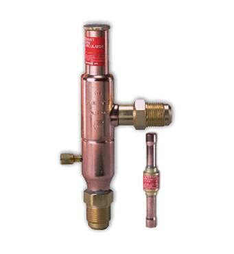 Регулятори тиску конденсації KVR і NRD Danfoss