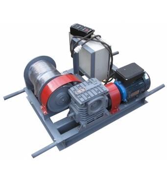 Лебедка электрическая однофазная ЛЭО-0,5-100