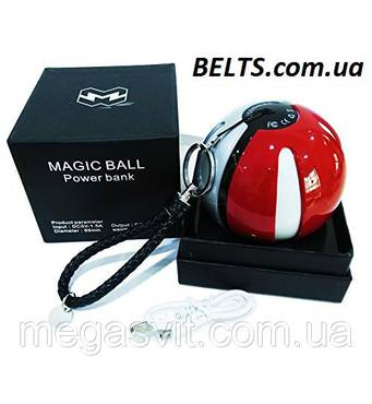 Зарядка Pokeball Power Bank 10000 мАч (зарядное устройство Покебол Magic ball Pokemon GO Покемон го)