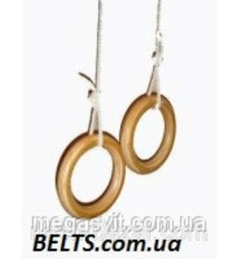 Кільця для гімнастики дітей (gymnastic rings) Лак