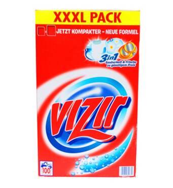 Пральний порошок універсальний Vizir 6,5 кг 100 прань (Оригінальний)