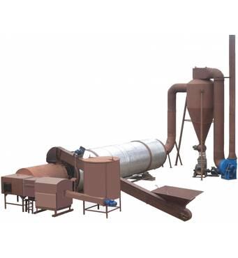 Сушильний комплекс по сушінню тирси для виготовлення брикетів