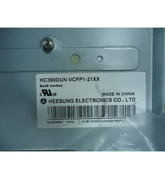 Матрица для телевизора LG 39LN540V (HC390DUN-VCFP1-21XX) с дефектом