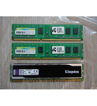 Оперативная память для ПК DDR3 2GB PC3-10600 1333