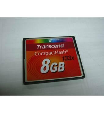 Карта памяти Transcend 133X 8GB Compact Flash CF