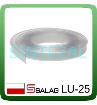 Лента уплотнительная для столешницы SALAG, L - 4,2 м. Прозрачная