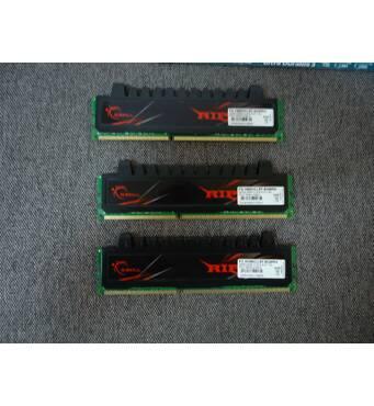 Память DDR3 6gb (2gb*3шт) G.SKILL F3 - 16000cl9t-6gbrh