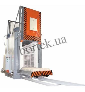 Проходная печь СДОП-10.20.17/12,5 с электрическим нагревом и вентилятором, двумя выкатными подами