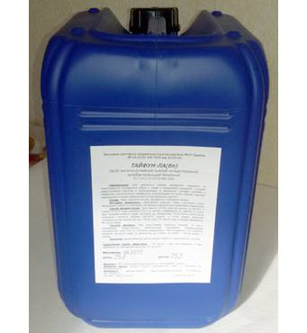 Средство чистяще-моющее, кислотное, концентрированное, высокопенное ТАЙФУН-Кщ(в)