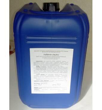 Средство чистяще-моющее, кислотное, концентрированное, низкопенное ТАЙФУН-К(н)-плюс