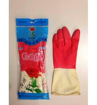 """Купить рабочие резиновые перчатки N-128 """"Роза"""" оптом на 7 км"""
