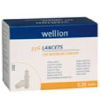 Ланцети універсальні Велліон/Wellion (Австрія) 200 штук