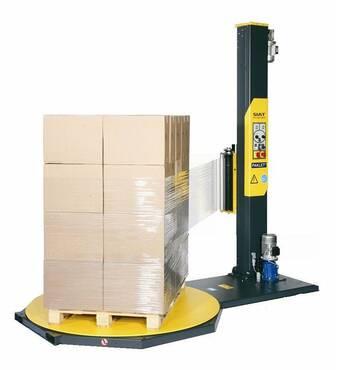 Палетообмотувач One Wrap (F1)-LP з системою моторизованого пре-стретчу плівки до 240% SIAT, купити в Україні