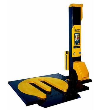 Паллетообмотчик SW2-HS-FM SIAT с Е-платформой для заезда ручными тележками, купить