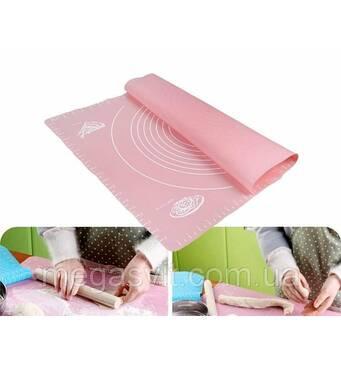Килимок-підкладка для розкочування тесту (40х50 см)