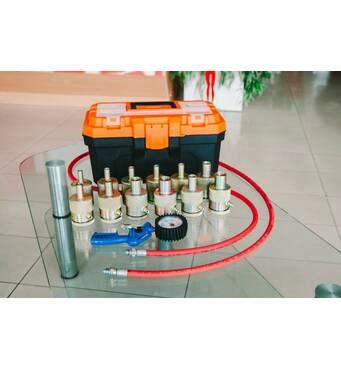 Обладнання для профілактики, відновлення і ремонту газомасляних двотрубних амортизаторів, купити