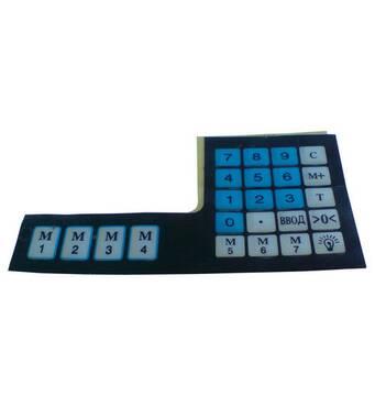 Наклейка клавіатури вагів А9