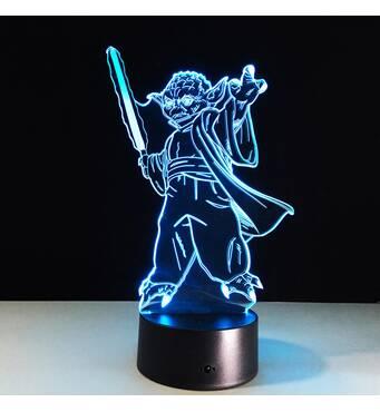 """3D світильник """"Йода"""""""