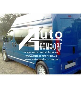 Задний салон, левое окно, длинная база, дверное Renault Trafic, Opel Vivaro, Nissan Primastar, Трафик, Виваро, Примастар