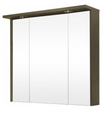 Шкафчик зеркальный Крокус-80, венге