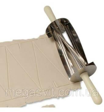 Ножик для круассанов, нож-роллер, скалка-резак Croissants Cutter