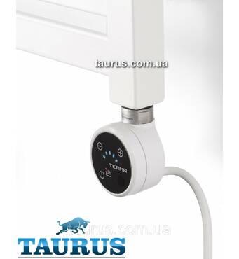 Білий ЭЛЕКТРОТЭН TERMA MOA IR white з регулятором   таймер 2ч.   під пульт ДУ   звук. Потужність  від 100-1000Вт.