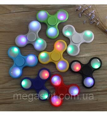 Світлодіодний спиннер іграшка Антисресс Fidget Spinner