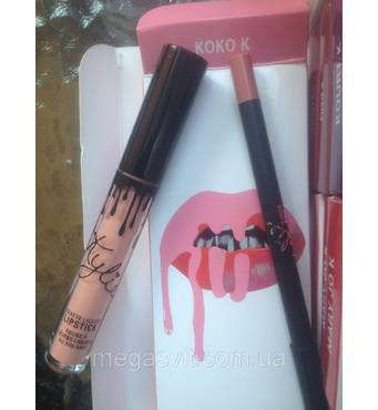 Помада и карандаш Kylie (KOKO K)