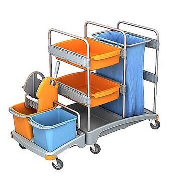 Тележка гостиничная для горничных SPLAST TSZ-0001