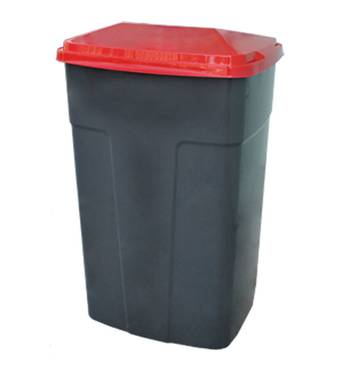 Контейнер пластиковый для мусора, 90 л Алеана ВП-90