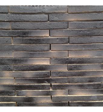 Кирпич ручной формовки St.Joris Длинноформатный Linear черный