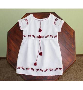 Платье вышитое для девочки