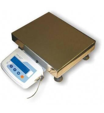 Весы лабораторные электрические ТВЕ 12-150 кг размер платформы 400х400 мм 150 кг