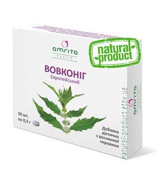 Вовкониг, 50 табл. по 500 мг