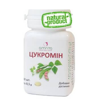 Цукромин, 60 табл. по 500 мг